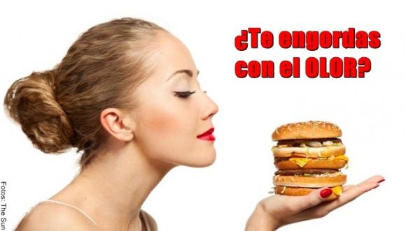 ¿El olor de los alimentos también engorda?