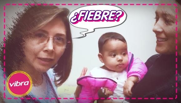 ¿Qué hacer cuando mi niñ@ tiene fiebre?