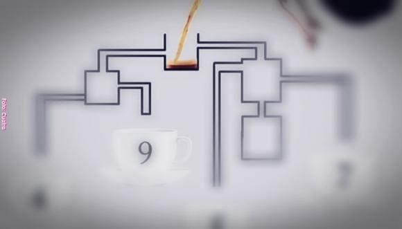 ¿Serás capaz de resolver el reto de la taza de café?