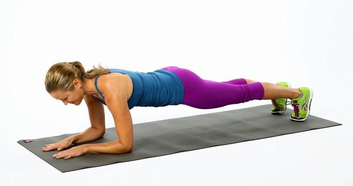 Plancha yoga a tu salud