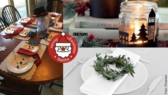 Ideas para adornar tu mesa esta Navidad