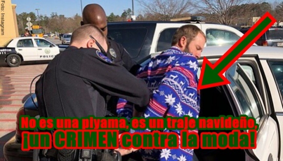 Horrorosos trajes navideños para toda la familia