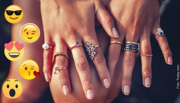 ¿Qué anillos usar según la forma de mis manos?