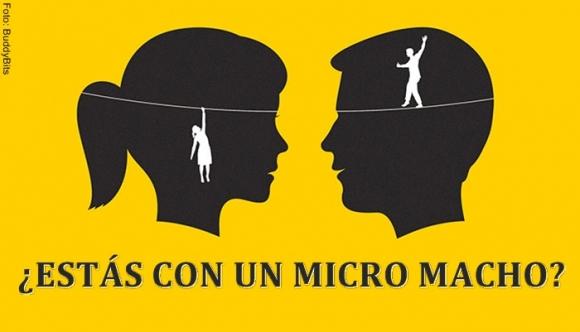 """¿Estás con un """"micro macho""""?"""