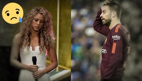 La familia de Shakira y Piqué en el peor momento