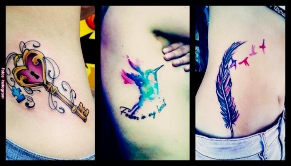 12 tatuajes para las costillas #Divinos
