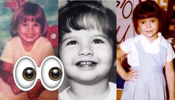 #RETO: ¿Reconoces a la famosa cuando era niña?