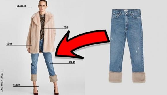 Jeans con peluche: ¿lindos o ñeros?