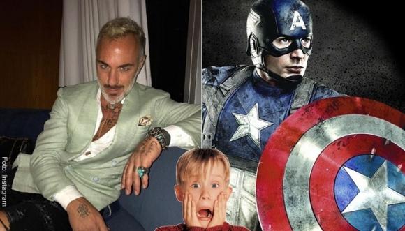 ¿Gianluca Vacchi será el nuevo Capitán América?