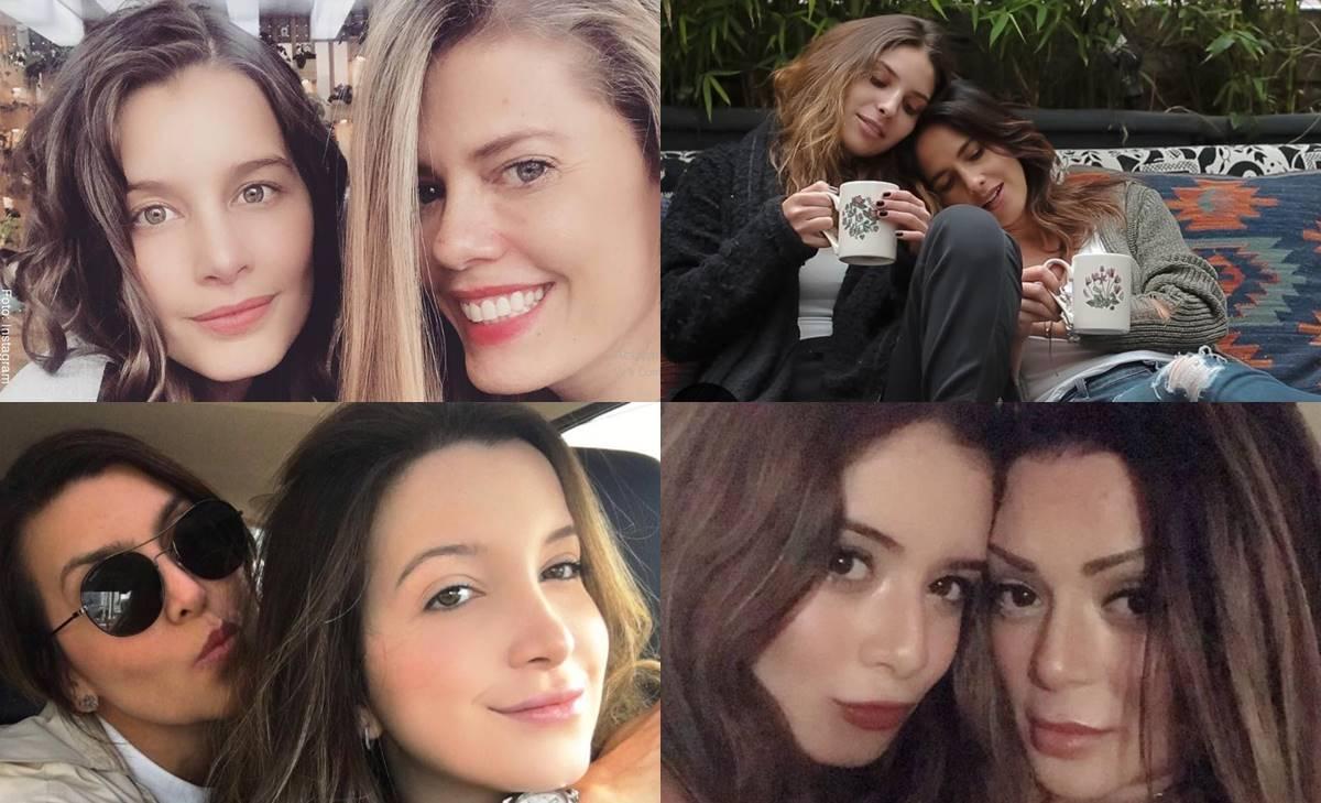 Parecen hermanas... ¡Pero son madre e hija!