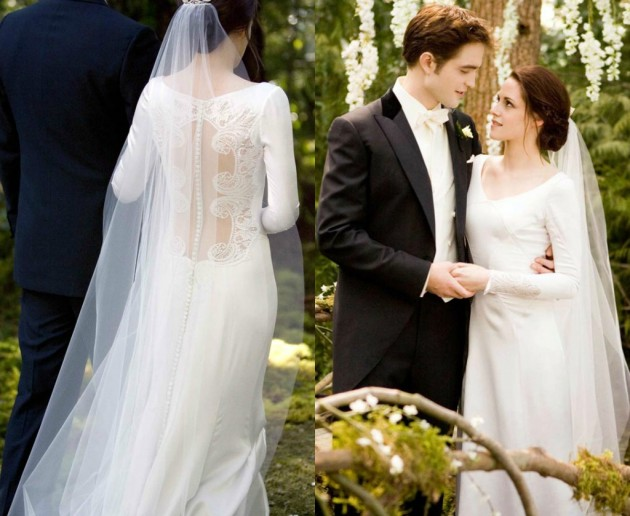 CarolinaHerrera wedding dress bella swan twilight w630
