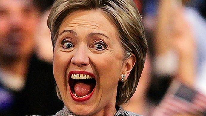 FamososDientesDesorden HilaryClinton