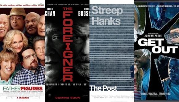 4 géneros: ¡4 películas de estreno para todos los gustos!