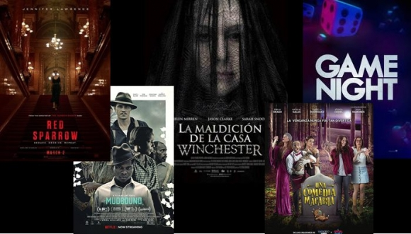 Películas de estreno para todos los gustos