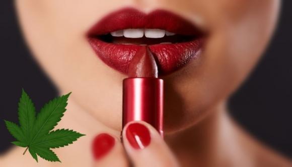 """Relájate con un lápiz labial de """"marihuana"""""""