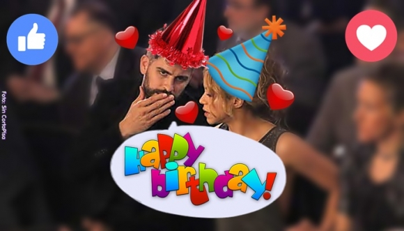 ¡Shakira y Piqué, 6 años celebrando su cumple juntos!