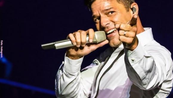Ricky Martin se lesionó en Las Vegas
