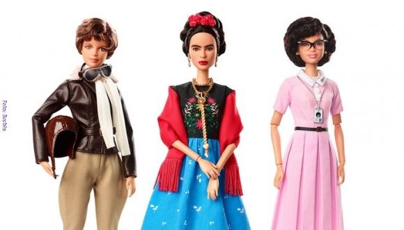 Frida Kahlo y otras mujeres históricas inmortalizadas por Barbie