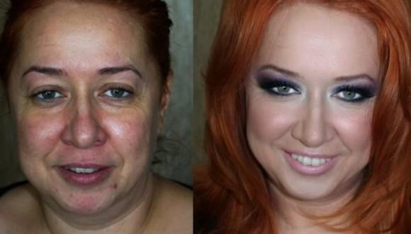 La magia del maquillaje en fotos