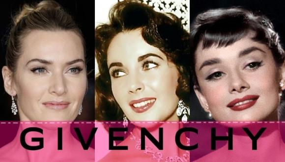 Famosas no se quitaban a Givenchy de encima