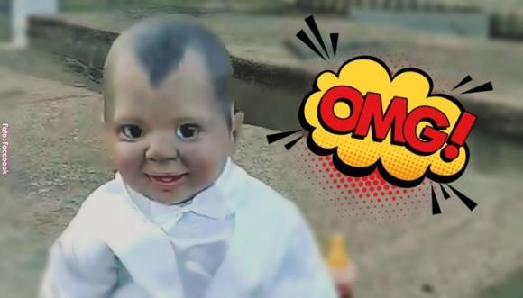 Será un niño o un muñeco, ¡no te aterres! (Video)