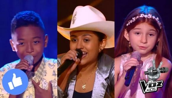 Si fueras juez de La Voz Kids, ¿a cuál niño elegirías?