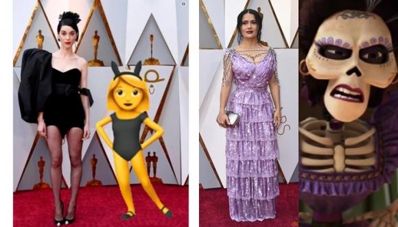 ¿Cuál fue la peor vestida de los Oscar 2018?