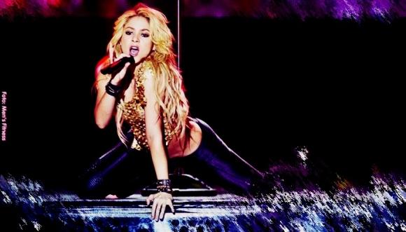 Shakira dejó ver su lado más sexy