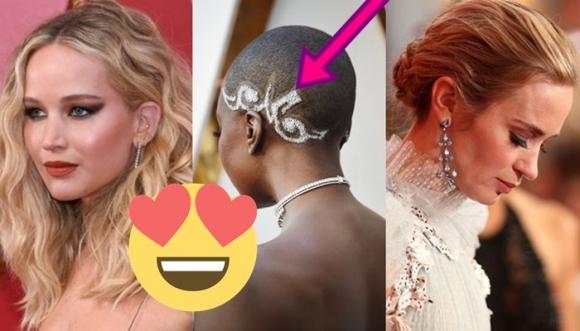 Peinados de los Oscar 2018, ¡como para copiarlos!