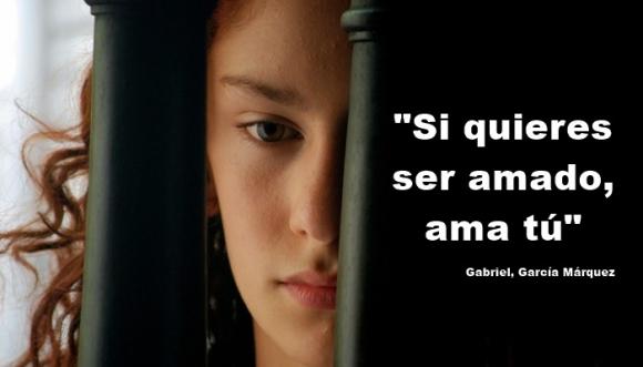 Frases de amor de Gabriel García Márquez