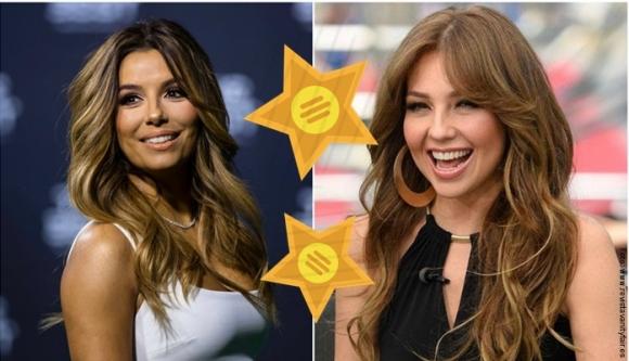 Latinas que obtuvieron estrella en el paseo de la fama