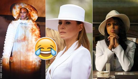 Sombrero de Melania Trump desata lluvia de memes