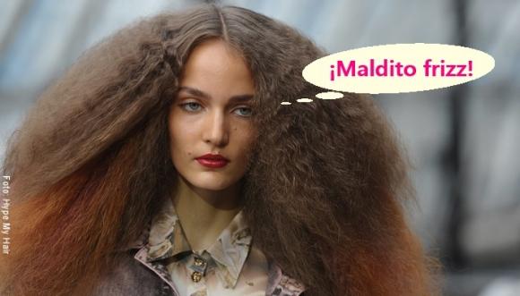 Errores por los que nuestro pelo sigue con frizz