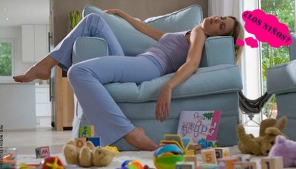 ¿Mamá, estás más cansada de lo normal por tus hijos?