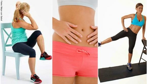 5 ejercicios prácticos que eliminarán la grasa de tu vientre