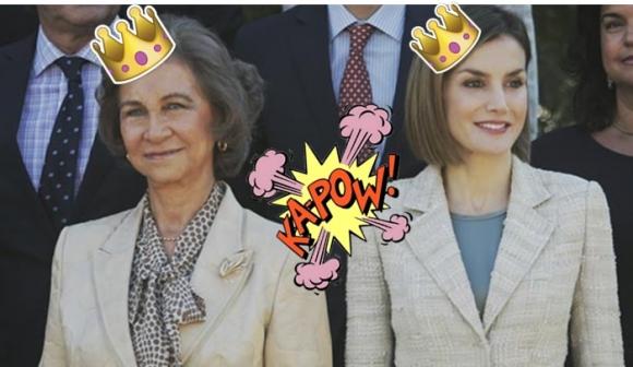 Se deteriora relación entre reina Letizia y doña Sofía