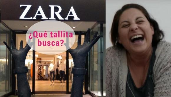 Pide a dueño de Zara tallas más grandes, ¡muy chistoso!
