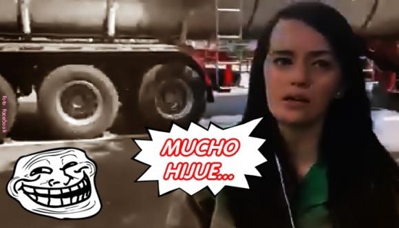 Video: Periodista terminó su informe con un ¡madrazo!