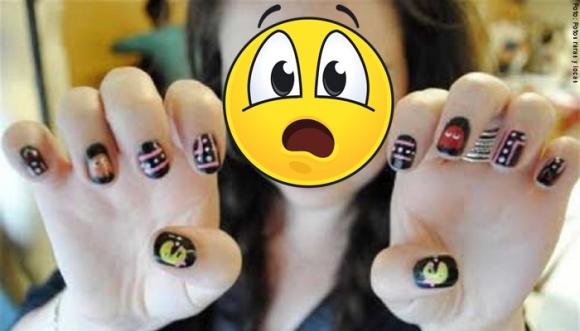 ¿Te harías esto en las uñas?
