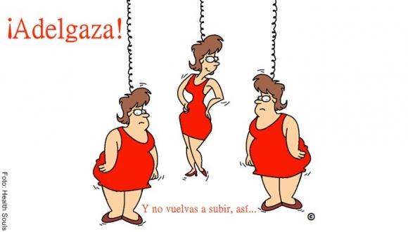 Secreto para no volver a engordar tras adelgazar