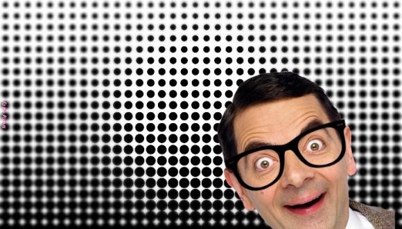Reto visual: ¿Cuántos puntos blancos y negros ves?