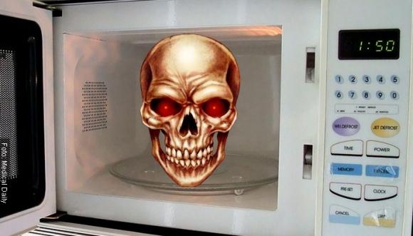 ¿Tu microondas podría estar matándote?