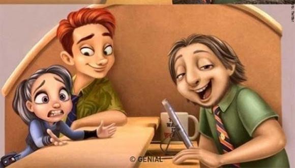 Caricaturas convertidas en personas. ¿Ya las viste?