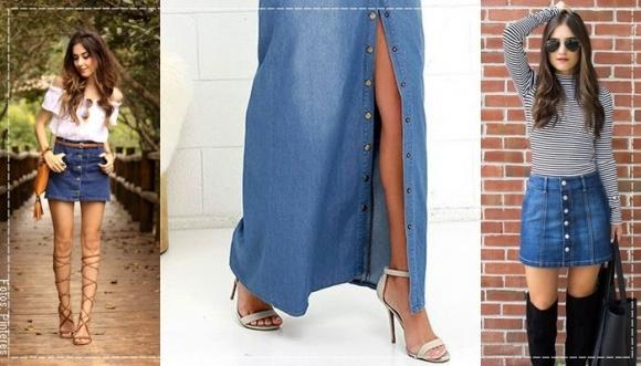 7 ideas para volver a usar una falda de jean
