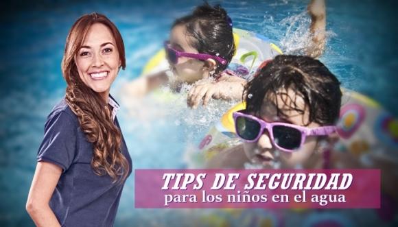 Recomendaciones de seguridad para niños en piscinas