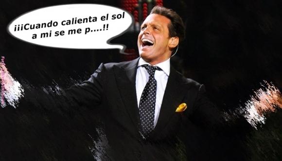 """Video: A Luis Miguel """"se le paró"""" en pleno concierto"""