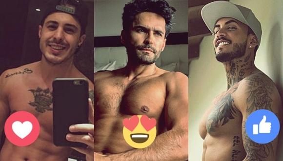 """Top 10: Hombres más """"posudos y mostrones"""" de Instagram"""