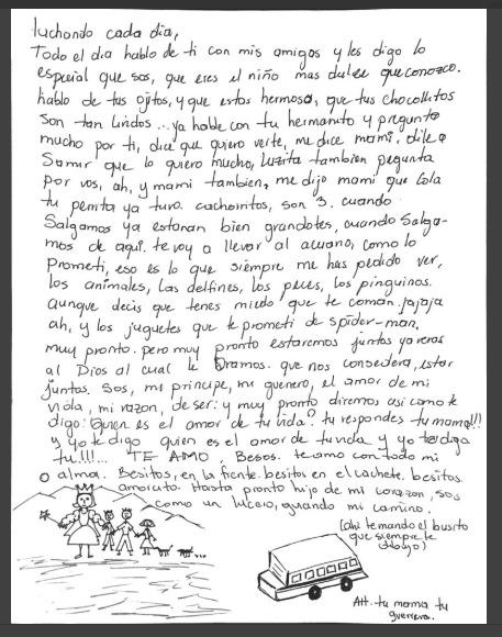 carta de una madre separada de su hijo en ee uu te hara llorar2
