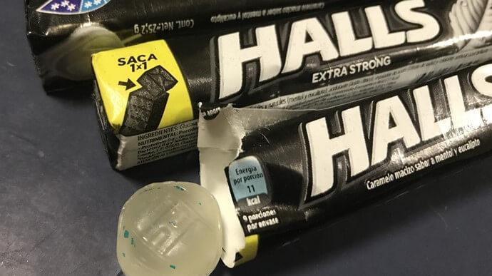 Paquete de Halls
