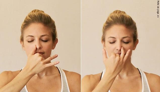 fosas nasales yoga
